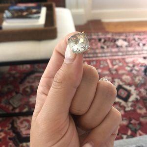 Jewelry Big Fake Diamond Earrings Poshmark